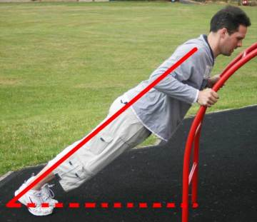 How to make pressups easier