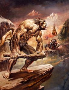 "Unbalanced musculature - the ""caveman"" look."