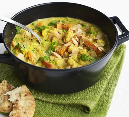 Creamy Veggie Korma - BBC Good Food