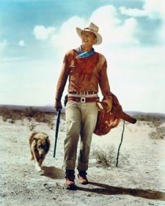 Walking like John Wayne