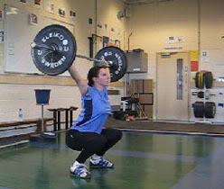 Woman strength training - www.gubernatrix.co.uk