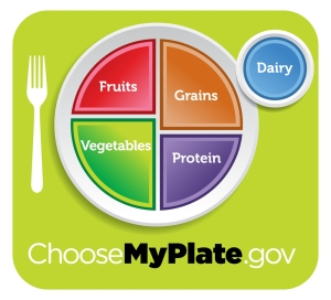 My Plate from the USDA
