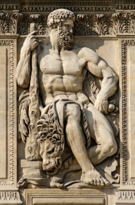 Greek god Heracles - http://aworldofmyths.com/