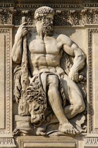 Greek god Heracles - http://aworldofmyths.com/